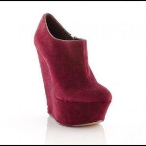 ShoeMint Pauline Platform Bootie
